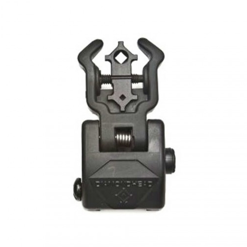 Diamondhead POLYMER AR15 Flip Up Rear Sight with NiteBrite