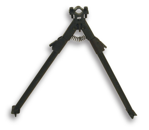 Universal Fit Steel Rifle Bipod w/ Adjustable Legs