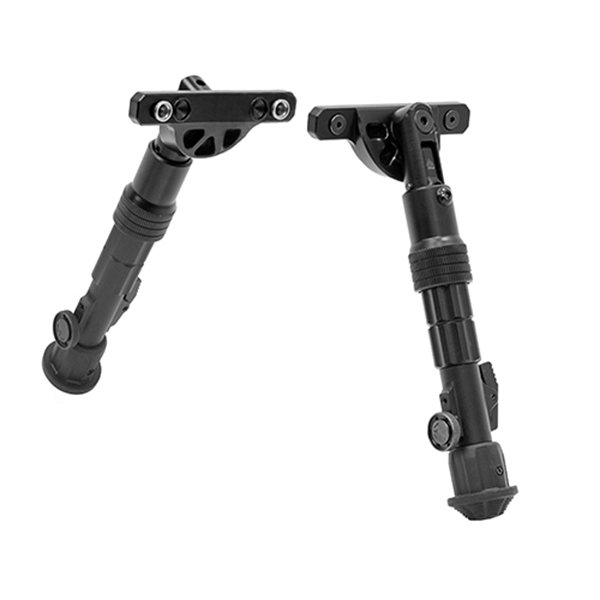 UTG KeyMod Compatible Compact Height Adjustable Rifle Bipod