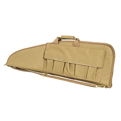 "NcStar 36"" Tactical Rifle Case w/ External Magazine Pouches"