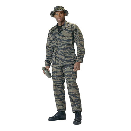 Tiger Stripe Battle Dress Uniform - Complete Uniform