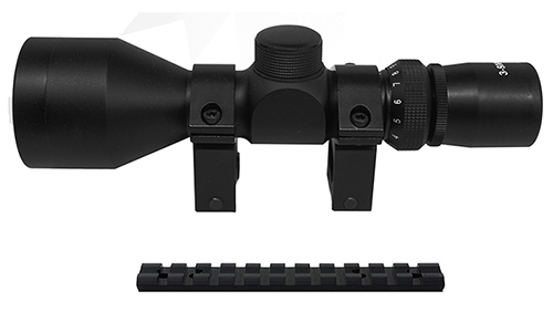 10/22 Combo #20 - Tactical 3-9x42 Scope + Rings + Mount