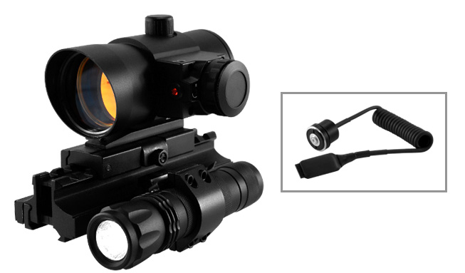 10/22 Combo #9 - Mount + Trirail + Red Dot w/ Laser + Taclight