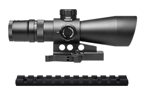 NcStar 3-9x42 Q.D. Mil-Dot Scope + Mount For Ruger 10/22 Rifle