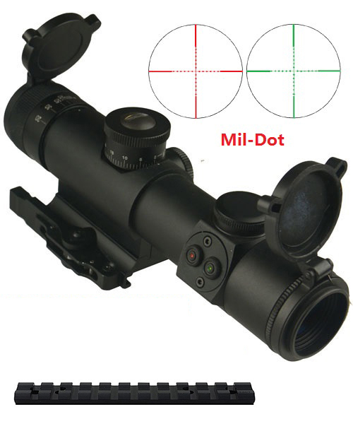 10/22 Combo #22 - SPETSNAZ Style 4x21 Rifle Scope + Mount