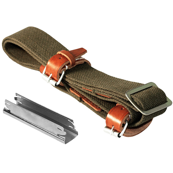 Mosin Combo #8 : Replica Rifle Sling + 20 Stripper Clips