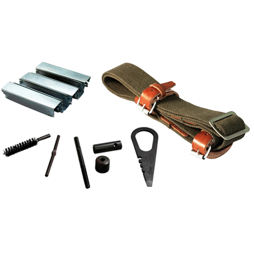 Mosin Combo #8 : Sling + 10 Stripper Clips + Cleaning Kit