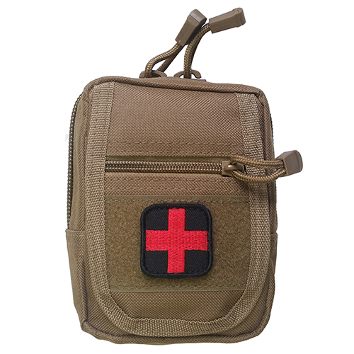 H&H PATROL IFAK First Aid Trauma Kit w/ MOLLE Compatible Pouch
