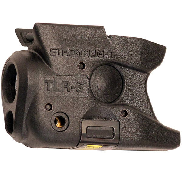 Streamlight TLR-6 Tactical Light + Red Laser S&W SHIELD 9mm .40