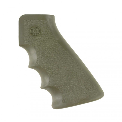 AR-15/M16/M4 OVERMOLDED GRIP - RUBBER GRIP WITH FINGER GROOVES -