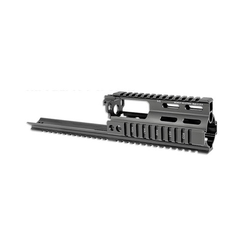 Midwest SCAR Handguard Rail Extension Black