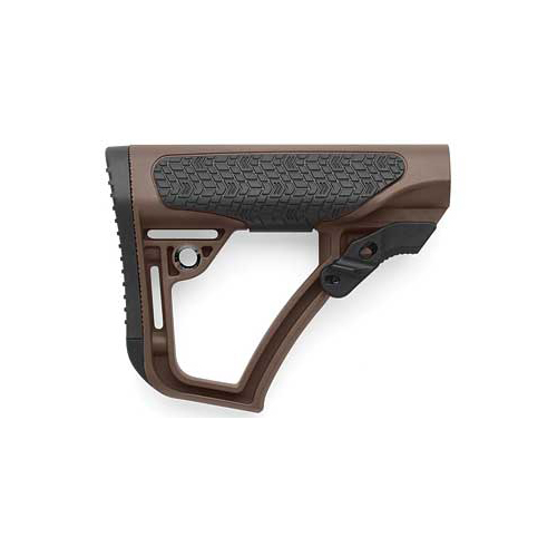Daniel Defense Collapsible AR15 Tan Buttstock Mil-Spec Diameter