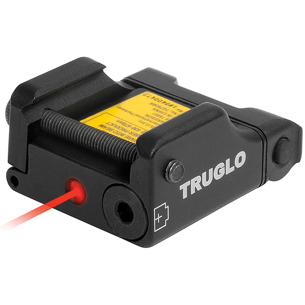TRUGLO Micro-Tac Red Tactical Laser Aiming Sight For Pistols