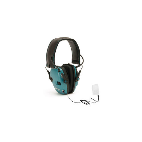 Howard Leight Impact Sport Noise Amplifying Earmuffs Teal