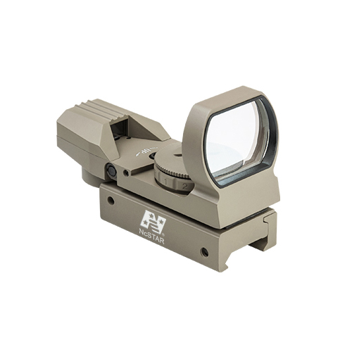NcStar Red & Green Colored Four Reticle Reflex Sight / D4RGT