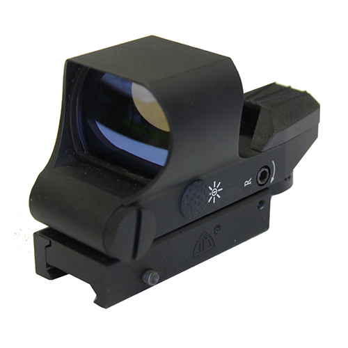 Tactical Reflex Sight w/ 4 Dual Color Reticles & Digital Switch