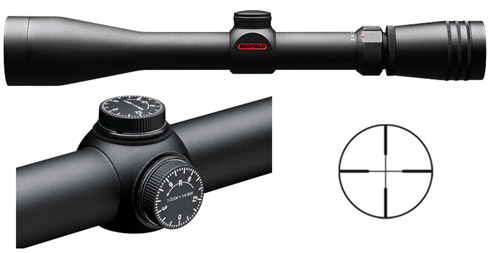 Redfield Revolution 3-9x40 4-Plex Rifle Scope