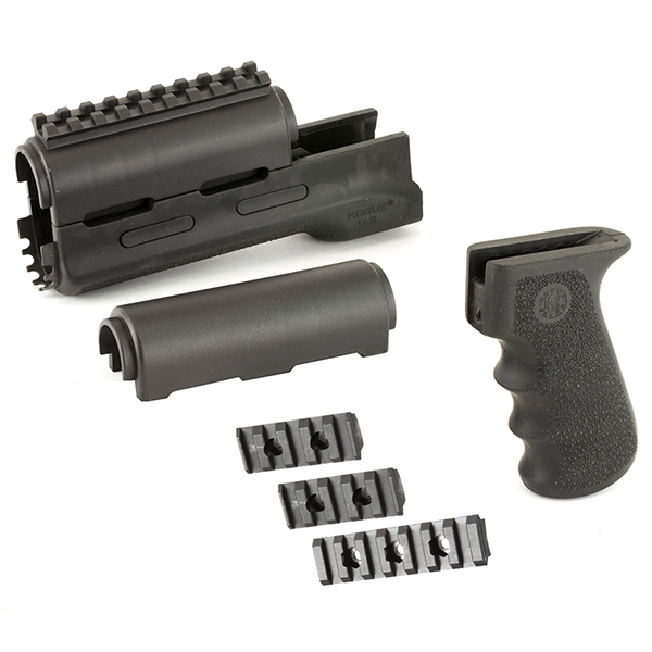 Hogue AK47 AK47 Black Overmolded Pistol Grip + Handguard Set
