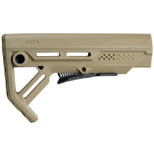 STRIKE Industries AR15 VIPER MOD-1 FDE Compact Tactical Stock