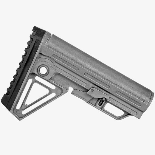 Trinity ALPHA Wolf Grey Complete Collapsible AR15 Stock Kit