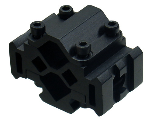 UTG Trirail Barrel Mount For Tactical Accessories