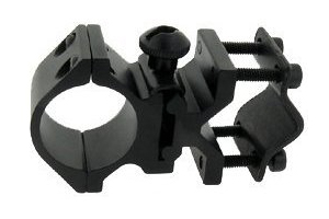"Universal Fit Barrel Mount + 1"" Accessory Ring Mount"