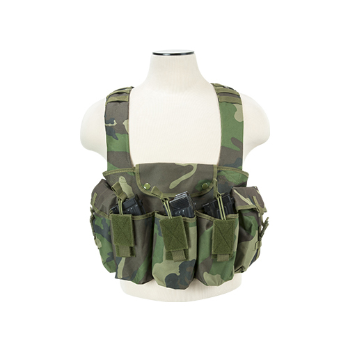 NcStar Multy Pouch Tactical Chest Rig For AK47 AK74 MAK90 Rifles