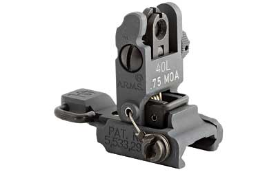 ARMS #40 Low Profile Flip Up Rear Sight