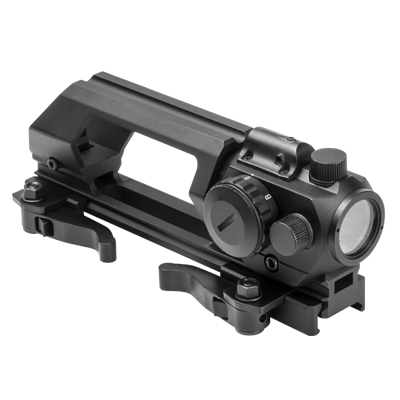 VISM Gen 2 QR Carry Handle With Rear Sight And Green Dot