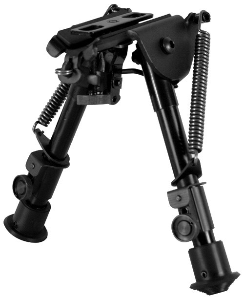 NcSTAR Compact Sling Swivel Stud Rifle Bipod + Adapters