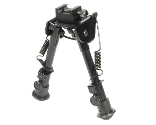 UTG Tactical Bipod OP-1 Sniper Low Profile Adjustable Height