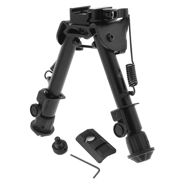 UTG Height Adjustable Quick Detach Picatinny Mount Rifle Bipod