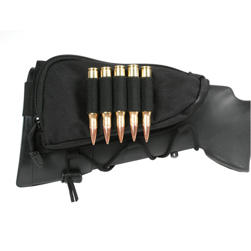 Blackhawk Tactical Adjustable Black Cheekpad w/ Ammo Holder