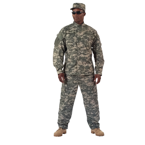 ACU Digital Camo Military Battle Dress Uniform - Shirt and Pants
