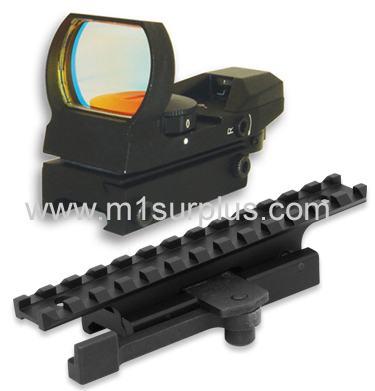 AR Combo #13 - Quick Detach Mount + 4 Reticle Reflex Sight