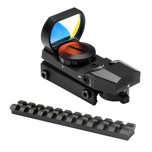 10/22 Combo #3 - Tactical Reflex Aiming Sight + Rail Mount