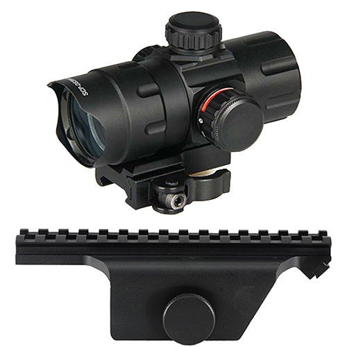 M1A Combo #11 - UTG Tactical Q.D. Red Green Dot Scope + Mount