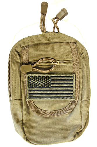 Concealed Carry MOLLE Utility Pouch fits Sub Compact Pistols
