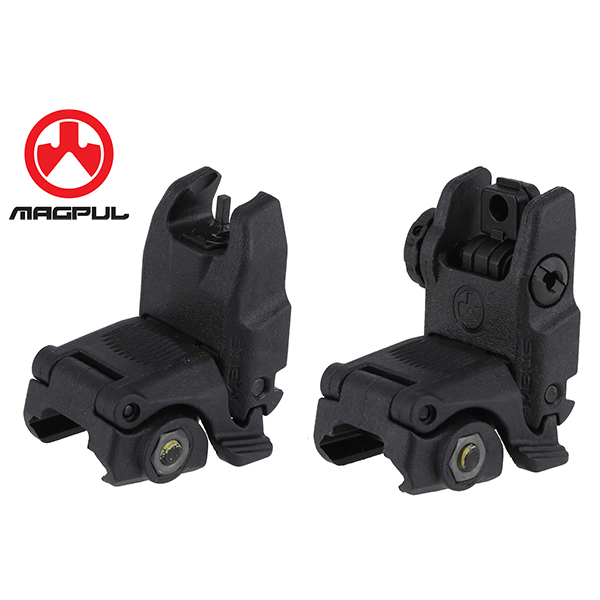 MAGPUL MBUS Front and Rear Sight Set Gen 2 Black FDE GRAY Colors