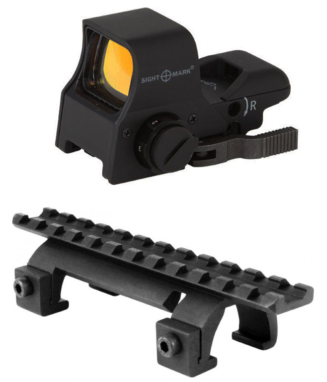 Hk Combo #2: Sightmark Ultra Shot Pro Spec NV Compatible + Mount