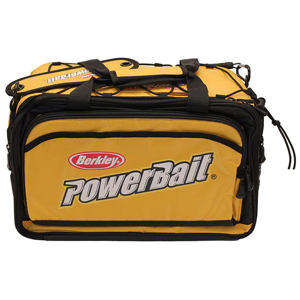 BERKLEY POWERBAIT Large Soft Tackle Bag w/ 3 Storage Trays