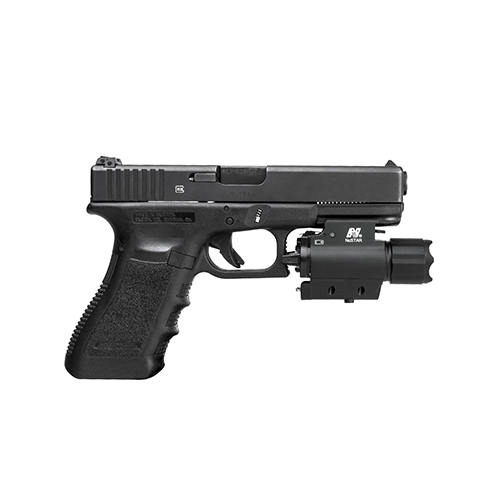 NcStar Tactical Pistol QD Red Laser Sight + LED Weapon Light