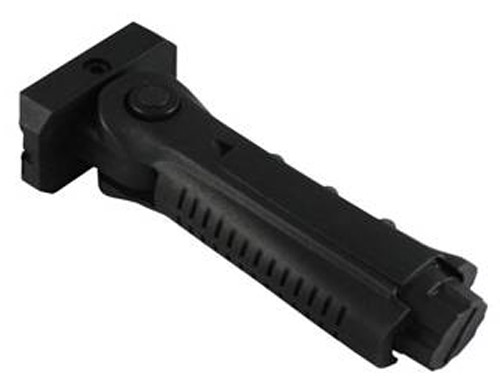 Tactical 5 Postion Folding Vertical Foregrip For Picattiny Rails