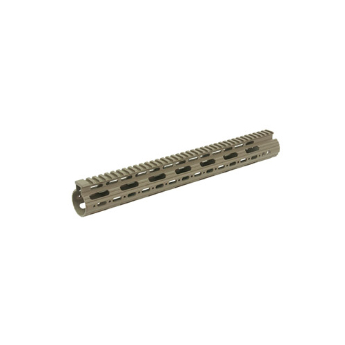 "UTG 15"" AR15 M4 Super Slim Free Float Handguard Flat Dark Earth"