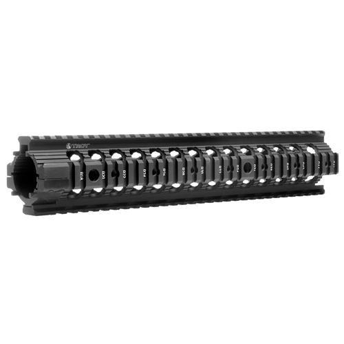 "Troy Industries 12"" MRF-R Battle Rail Black"