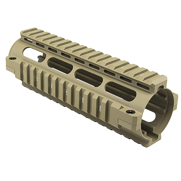 NcStar Carbine Length AR15 Tan Color Quad Rail Handguard