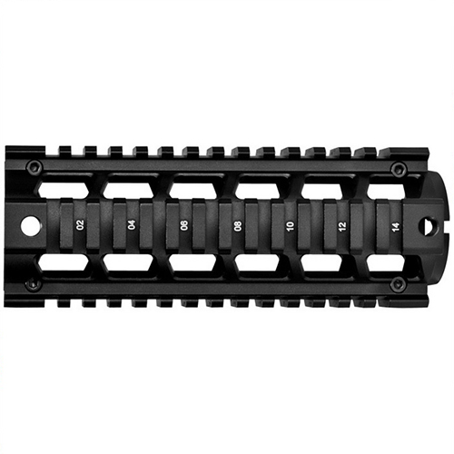 "Barska 6.75"" Two Piece Carbine Length Drop-In Fit AR15 Quad Rail"
