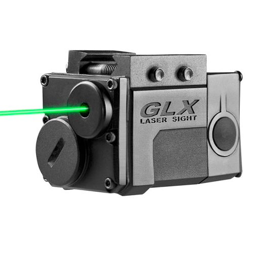 Barska Green Micro GLX Laser Sight fits Weaver Rails