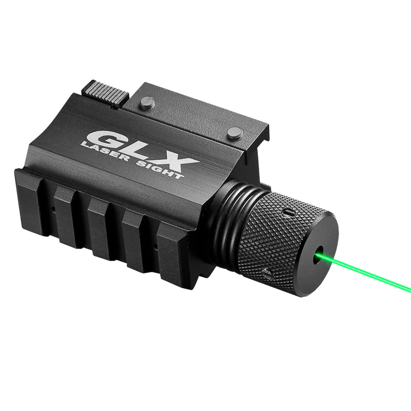 Barska Green Laser w/Built-In Mount & Rail