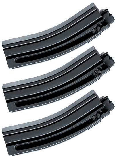 3 Pack Walther 10rd Magazines For.22 Hk Umarex MP5